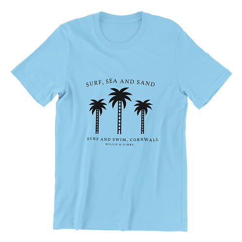 Swim and Surf Palm Tee