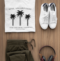 t-shirt-mockup-of-a-flat-lay-outfit-for-