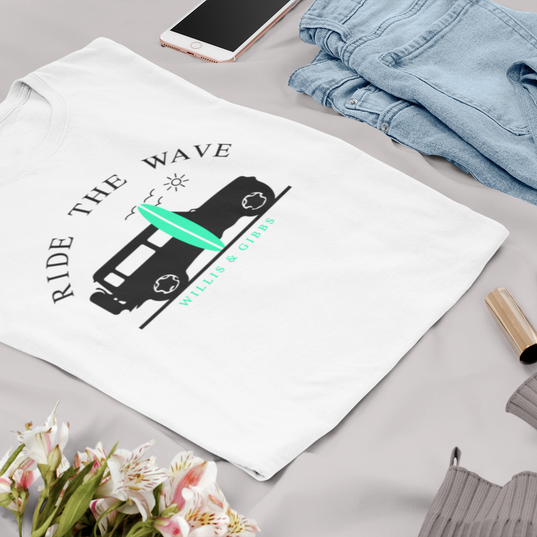 flat-lay-t-shirt-mockup-featuring-a-chic