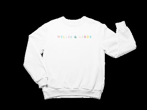 Willis & Gibbs Colour Logo Sweatshirt