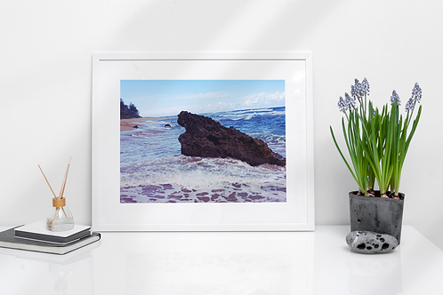 Sea Rock Print
