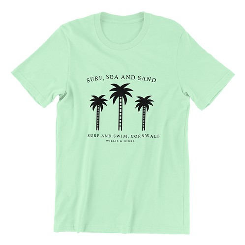 Swim and Surf Palm Tee
