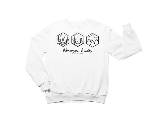 Adventure Awaits Sweatshirt