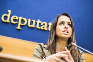 Conferenza stampa Camera deputati - Enrica Sabatini