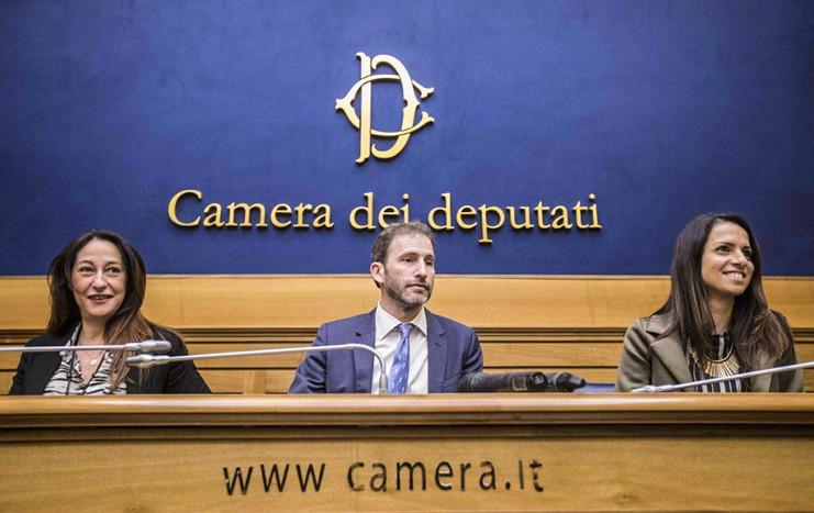 Presentazione Activism con Paola Taverna, Davide Casaleggio ed Enrica Sabatini