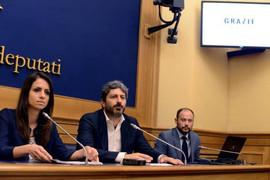 Conferenza stampa Enrica Sabatini e Roberto Fico presentano Rousseau