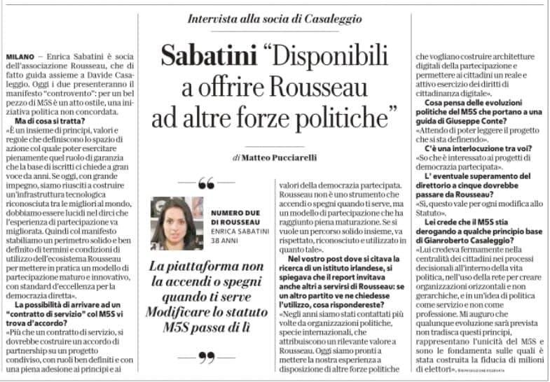 La Repubblica marzo 2021