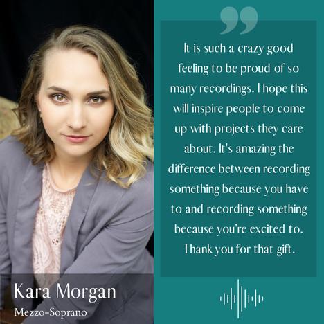 Kara Morgan - Mezzo-soprano