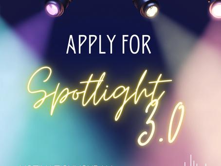 Apply for Spotlight 3.0