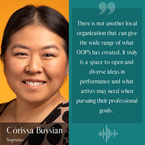 Corissa Bussian - Soprano