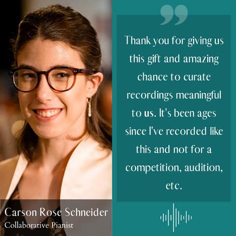 Carson Rose Schneider - pianist