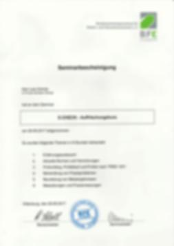 E-Check Auffrischung Zertifika