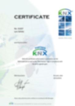 KNX Partner Zertifikat