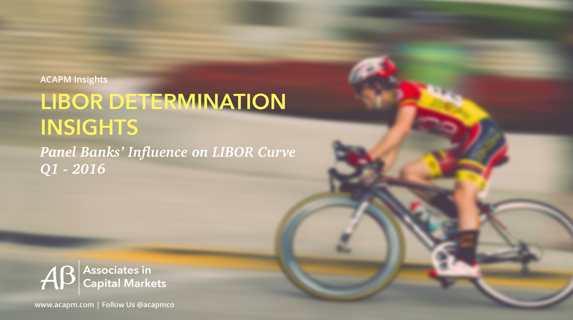 LIBOR Determination Insights Q1 2016