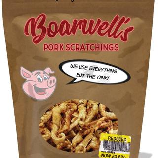 Boarwell's Pork Scratchings