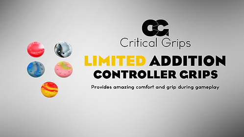 Critical Grips™ Limited Edition Controller Grips