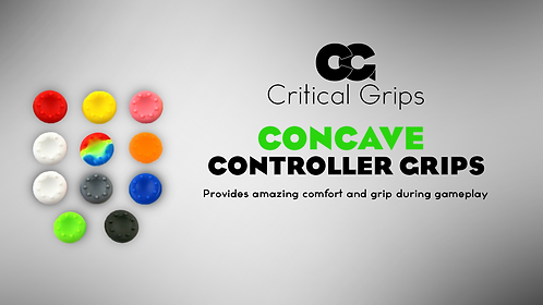 Critical Grips™ Concave Grips