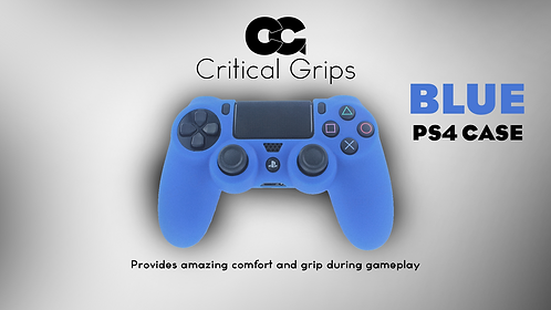 Critical Grips™ Blue PS4 Case