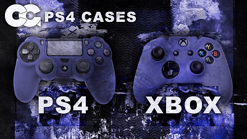 Critical Grips™ Blue PS4/XB1 Case