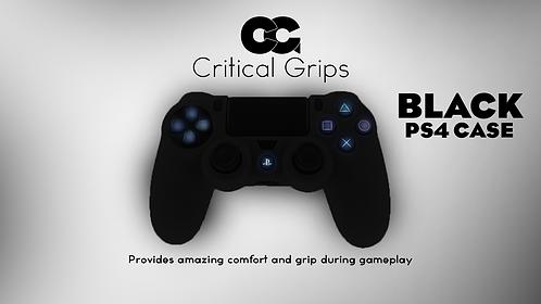Critical Grips™ Black PS4 Case