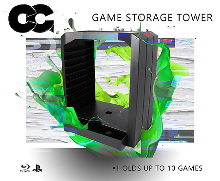 Critical Grips™ Game Storage Tower