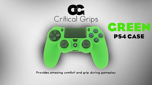 Critical Grips™ Green PS4 Case