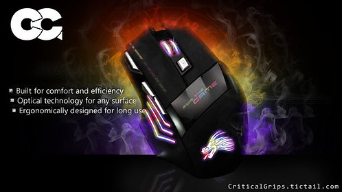 Critical Grips™ Gaming Mouse Wired 5500DPI