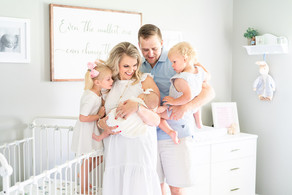 Timeless In-Home Newborn Session