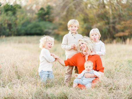 Winter Family Session - Little Rock, Arkansas