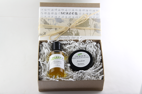 CBD Oil 'Essential' and CBD Cream Gift Set