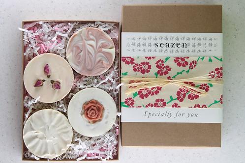 4 Soaps Gift Box bring up joy