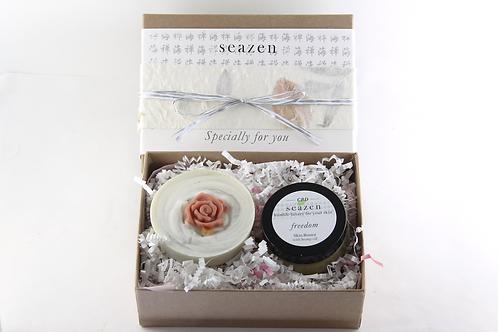 CBD Cream 'Freedom' and Soap Gift Set