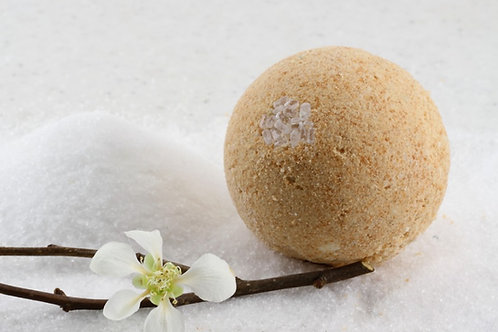 CBD Bath Bomb 'grounding'