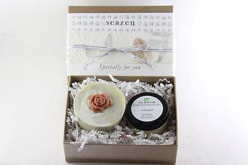 CBD Cream 'Vibrant' with Soap Gift Set