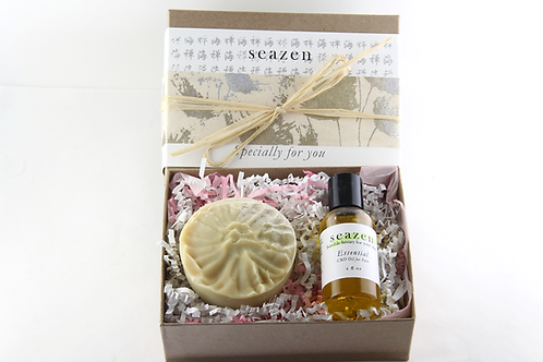 CBD OIl 'Essential' and Soap Gift Set