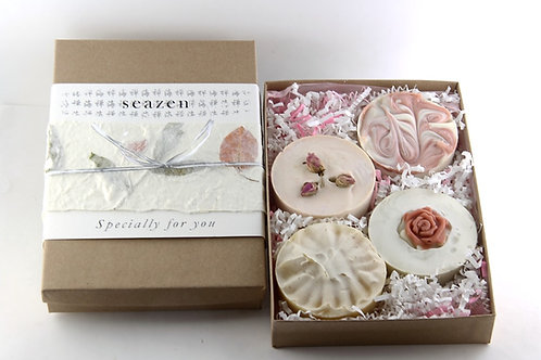 4 Soaps Gift Box bring up joy