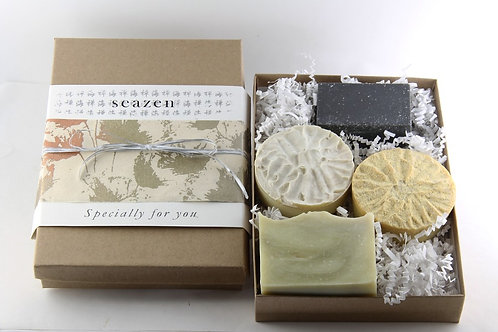 4 Soaps Gift Box keeps away from sick