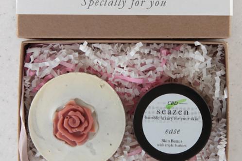 CBD Cream 'EASE' & Soap Gift Set