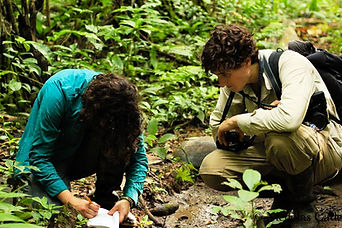 Mammal interns collecting data during a Fauna Forever mammal survey