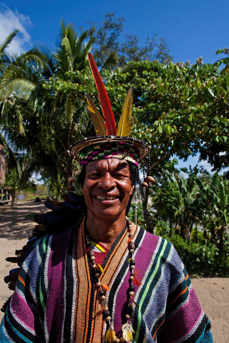 Fauna Forever - Community project - Elder at Puerto Nuevo Native Community (Juan Carlos Huayllapuma)