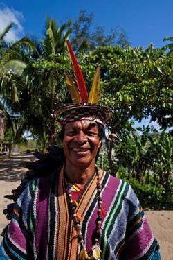 Fauna Forever - Community project - Elder at Puerto Nuevo Native Community (Juan Carlos Huayllapuma)