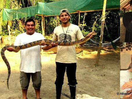 Conservando las Serpientes a traves de la Educacion Ambiental (por Alberto Garcia-Ayachi)