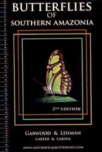 Book - Butterflies of Southern Amazonia.