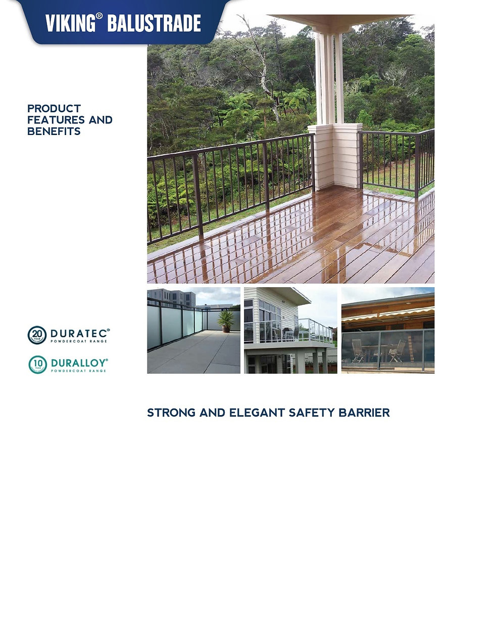 Balustrading and More, Whangarei, Viking Balustrade System
