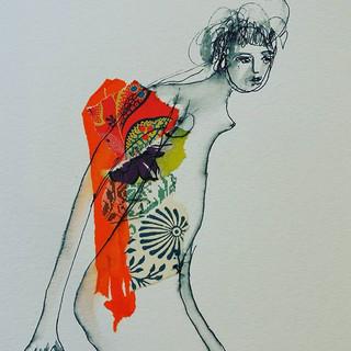 🌌🌾🎇🌸_#dessindenu #collages #artgaler