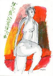 Peinture Claire Mériel
