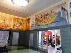 Rincon Center WPA murals