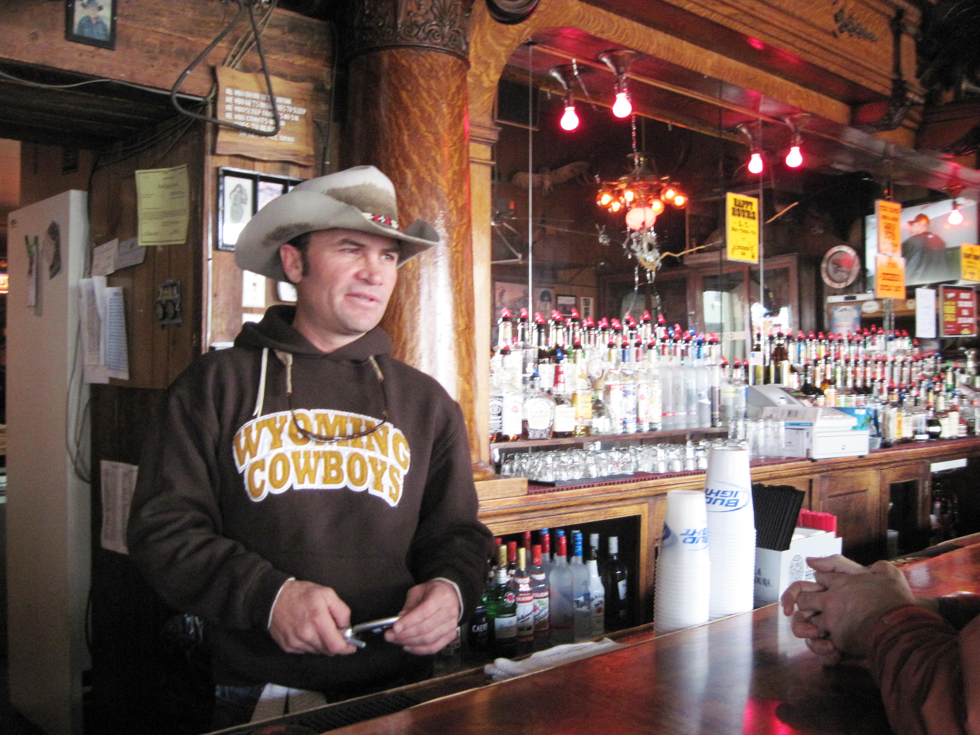 Buckhorn bartender