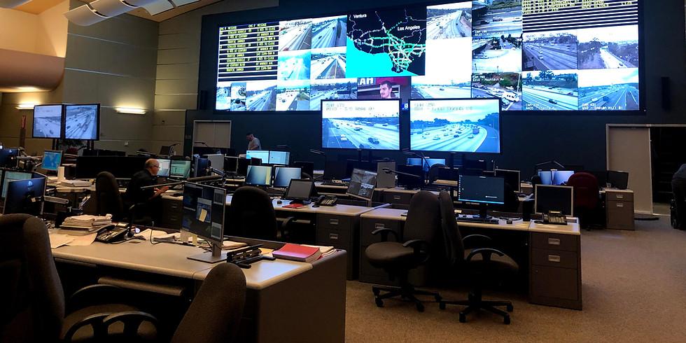Caltrans Transportation Management Center Tour