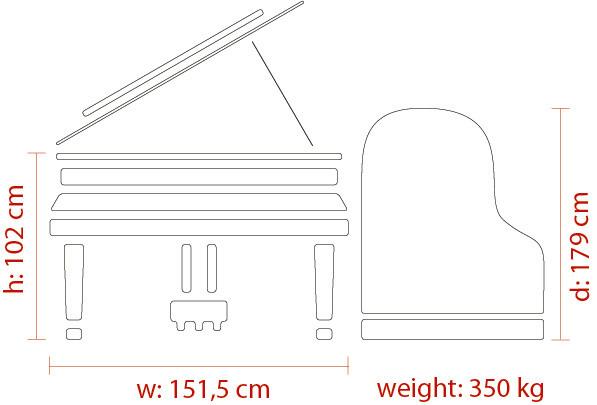 FEURICH 179 Dynamic II - Dimensions